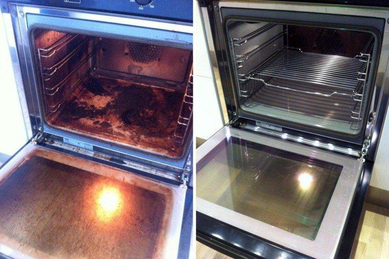Гениальный способ очистить вашу духовку до блеска!