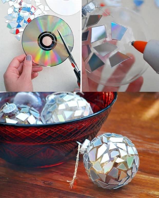 Поделки из старых компакт дисков своими руками
