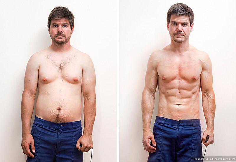 Тренировки без диеты результат