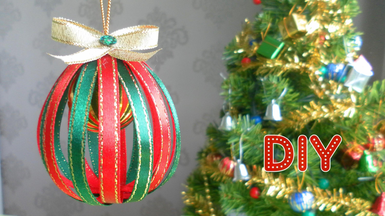 Елочные шары своими руками на новый год