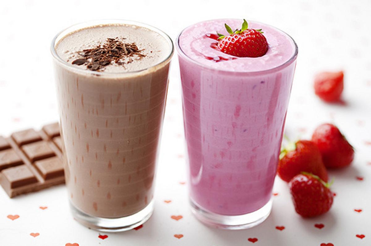 коктейль из мороженого и молока в блендере рецепты с фото