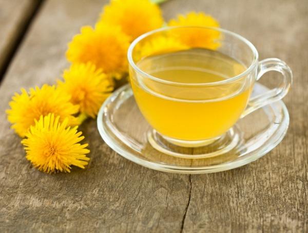 Чай из одуванчика при похудении