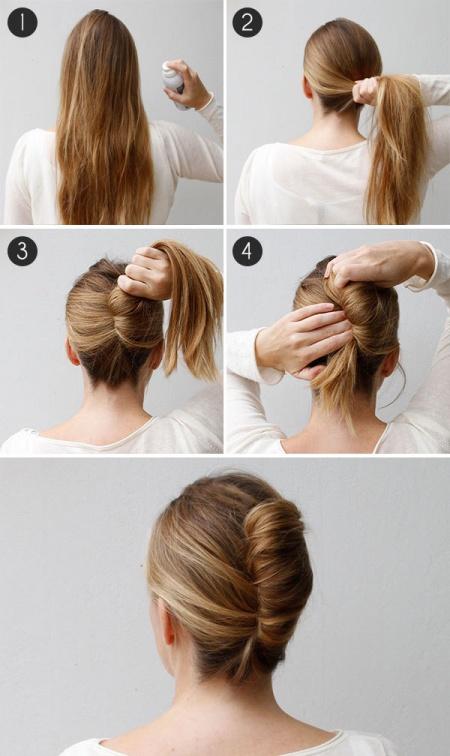 Прически легкие на средние волосы для девушек