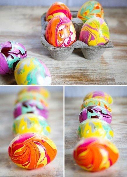 оригинальные яйца