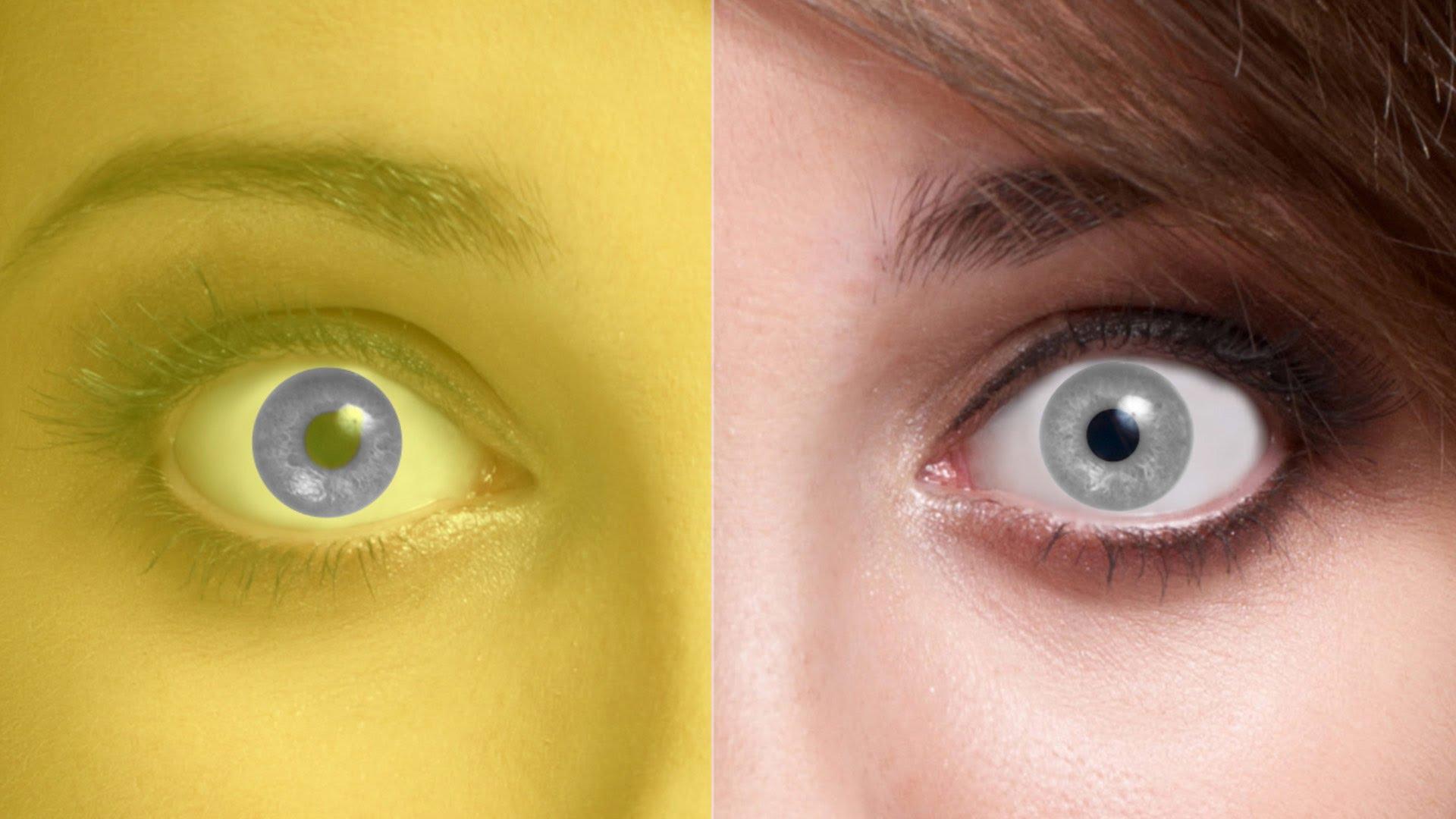 Как сделать в глазах иллюзию