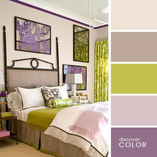 цвета в комнате