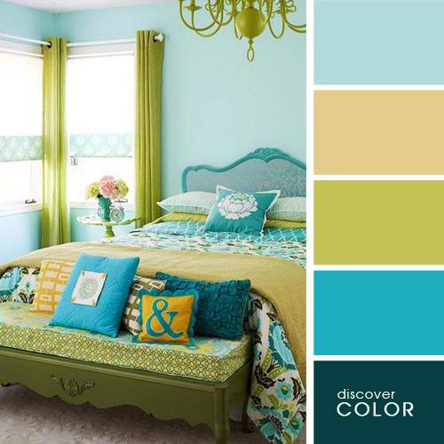 цвета в спальне