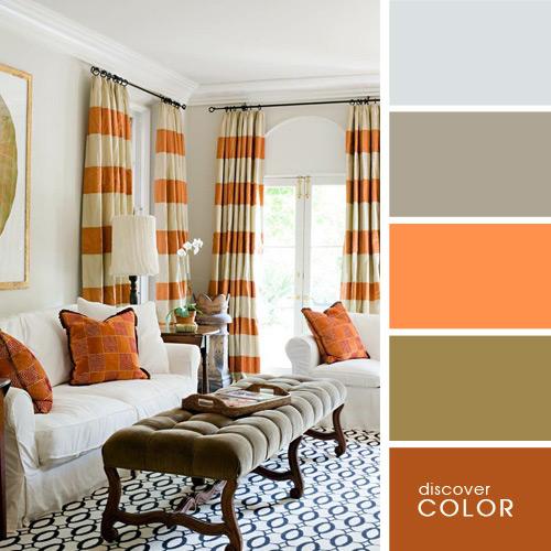 цветовое оформление квартиры