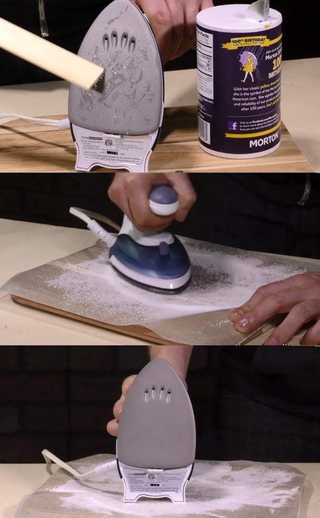 убираем солью бытовые проблемы