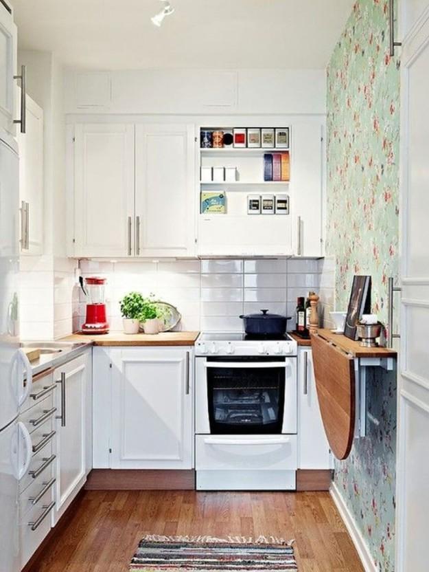 идеи для маленьких кухонь3