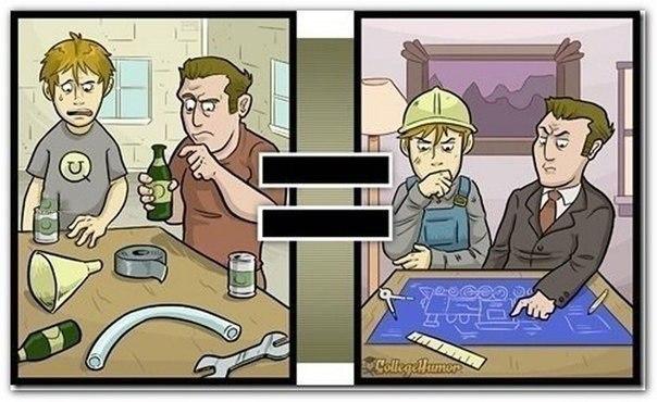 Как пьяный человек видит мир а ведь