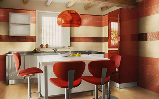место  на кухне