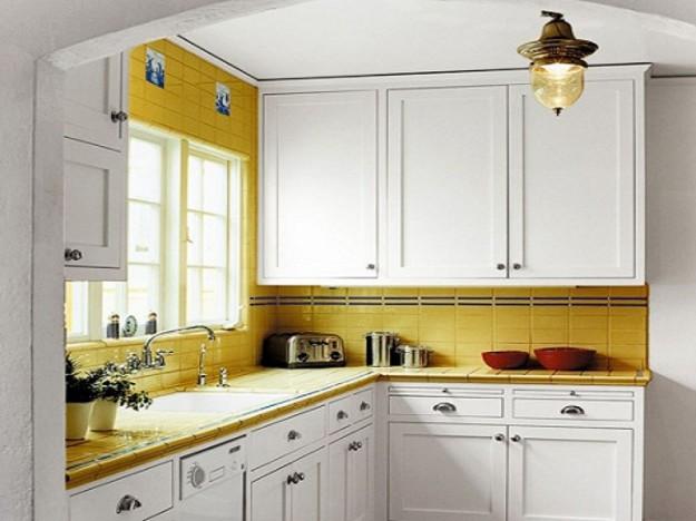 организация места на маленькой кухне