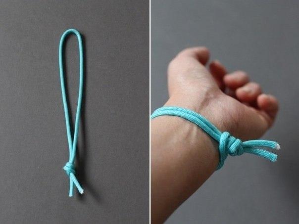 плетеный браслет своими руками2