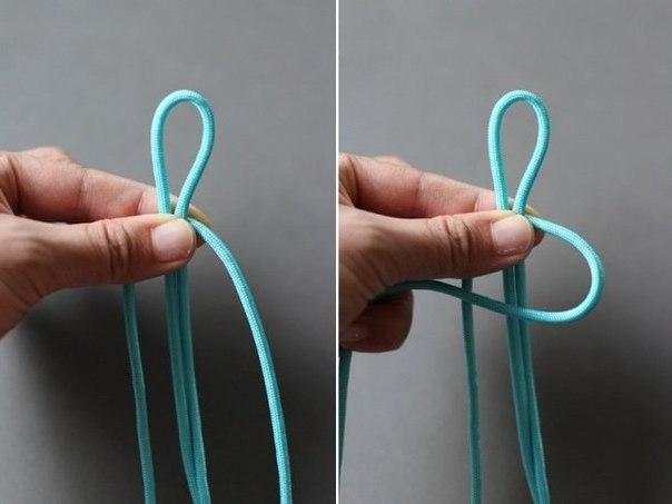 плетеный браслет своими руками3