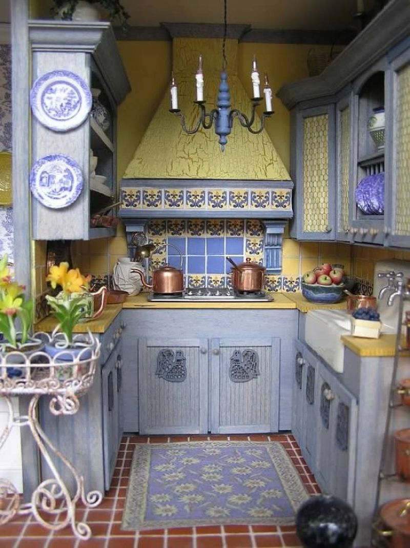 Создать уют на кухне своими руками 32