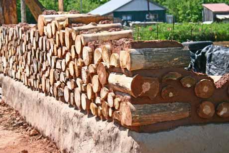 деревянные колоды