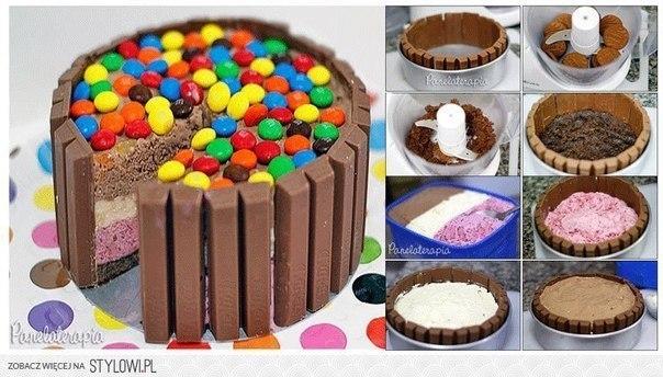 Оригинальный торт своими руками фото