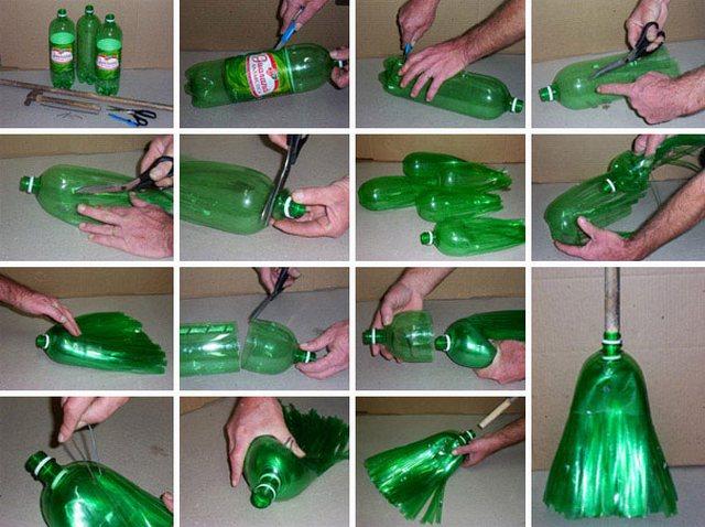 Что можно сделать с бутылкой своими руками