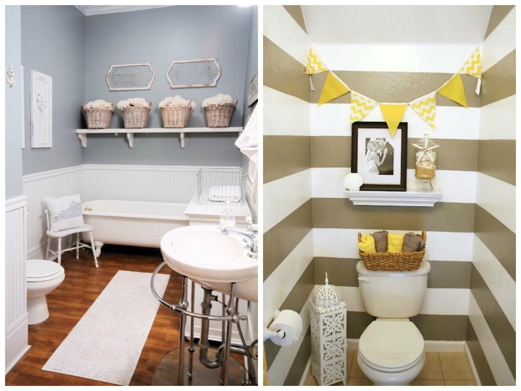 Как расширить визуально ванную комнату