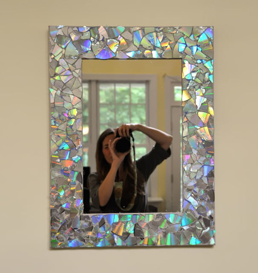 Красивые зеркала своими руками