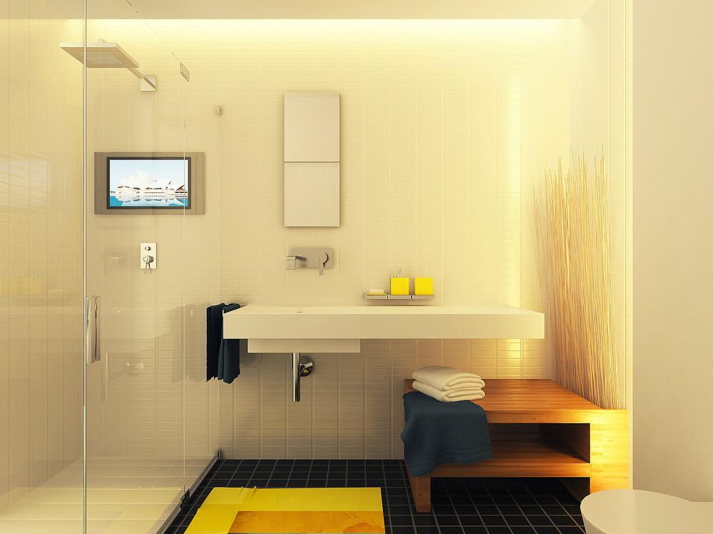 Дизайн студии 29 кв.м
