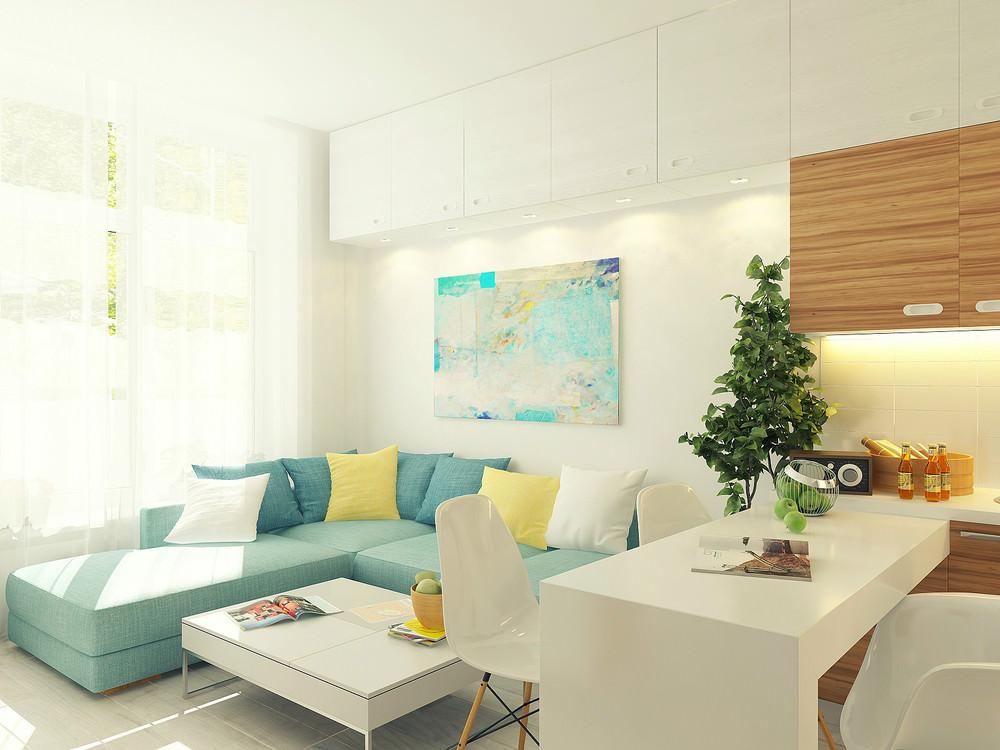 Дизайн маленькой квартиры 30 кв м