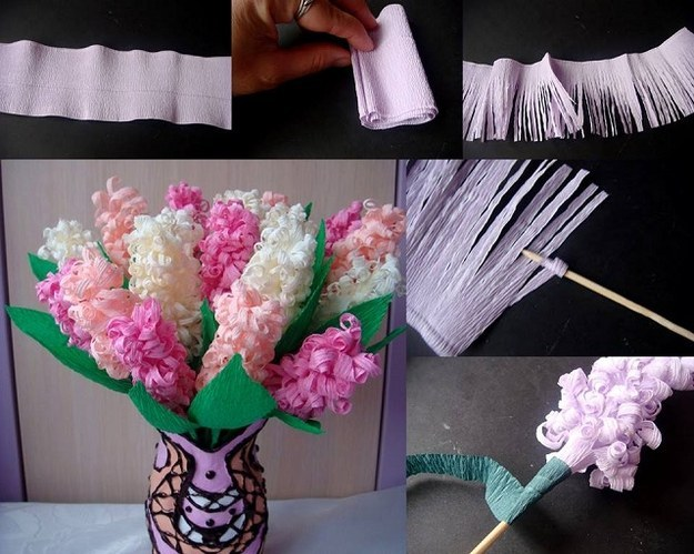 Делаем цветы из бумаги своими руками с детьми