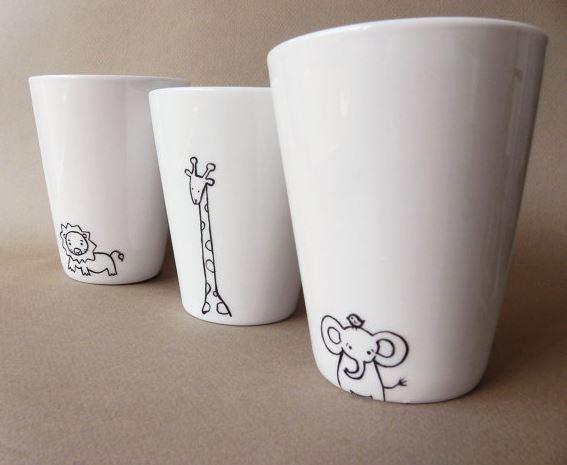 Рисунок на чашке своими руками 43