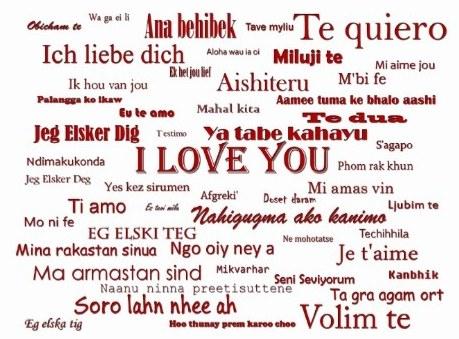 Картинки по запросу признание в любви на языках мира