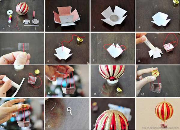 Как делать новогодние украшения своими руками фото