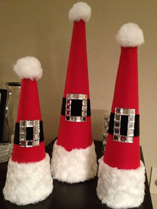 новогодние украшения на елку своими руками как сделать