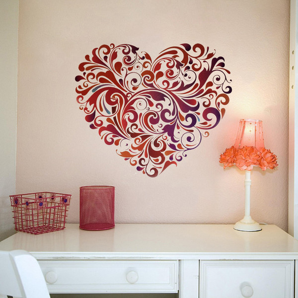 Mural decals for walls