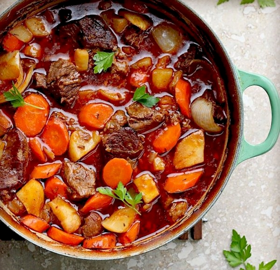 говядина в горшочке в духовке рецепт с фото