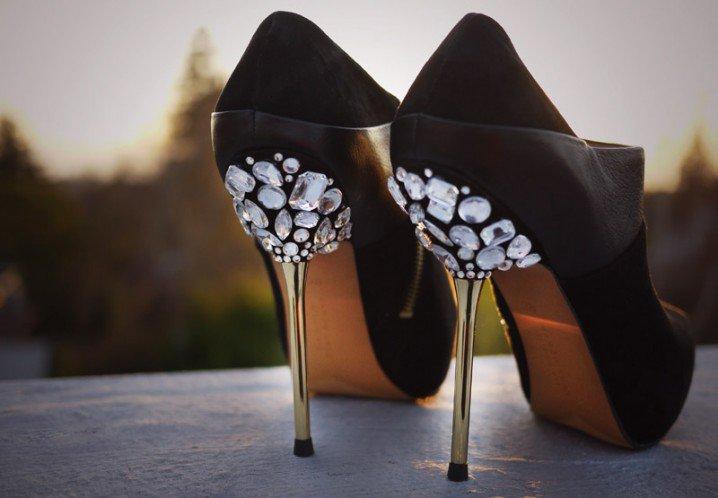 Украшения своими руками туфли