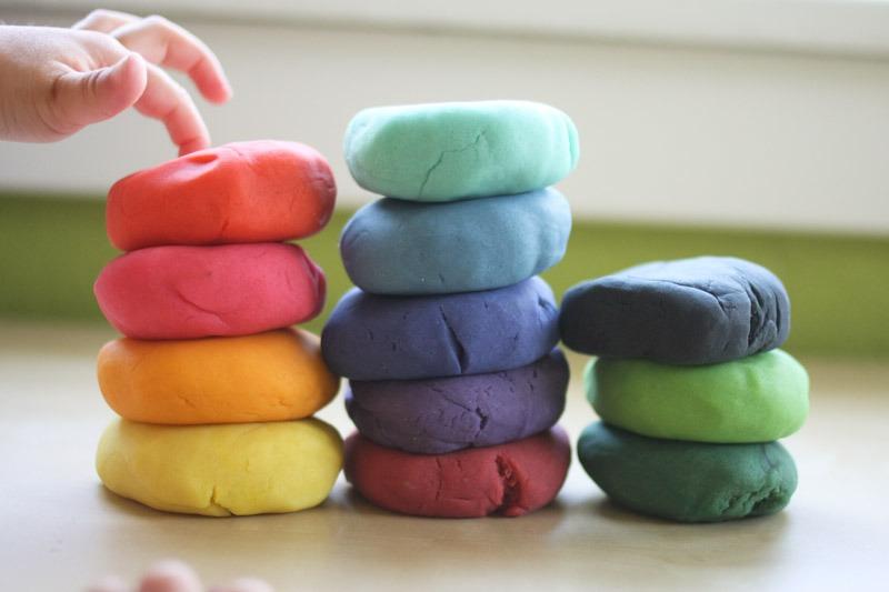 Как сделать тесто пластилин своими руками