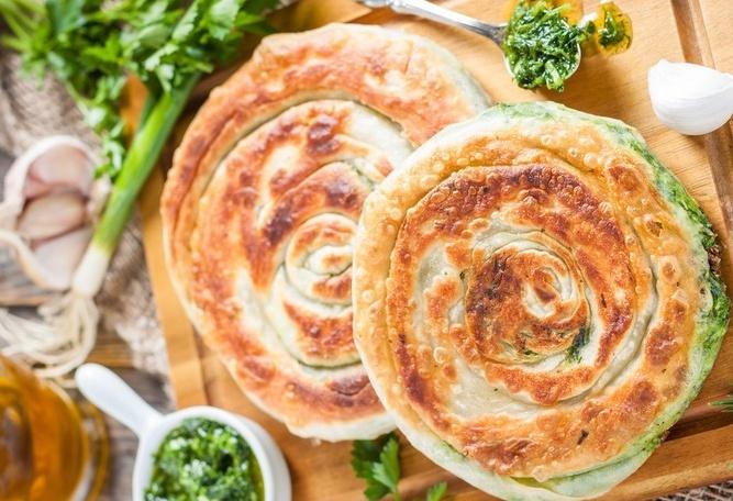 Сырные лепешки с зеленью рецепт с пошагово в