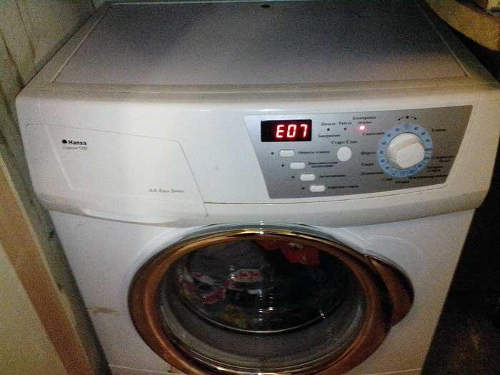 Все коды ошибок стиральных машин | Хитрости жизни