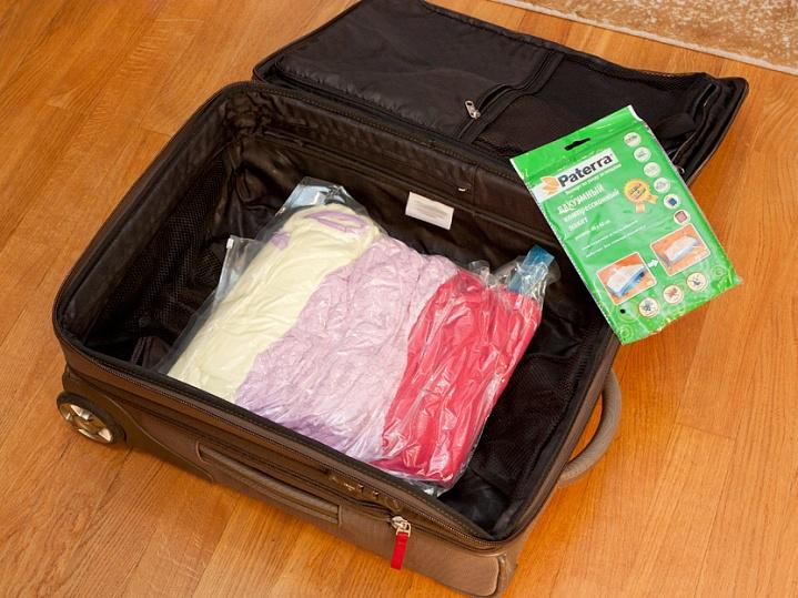 Вакуумные пакеты для перевозки вещей