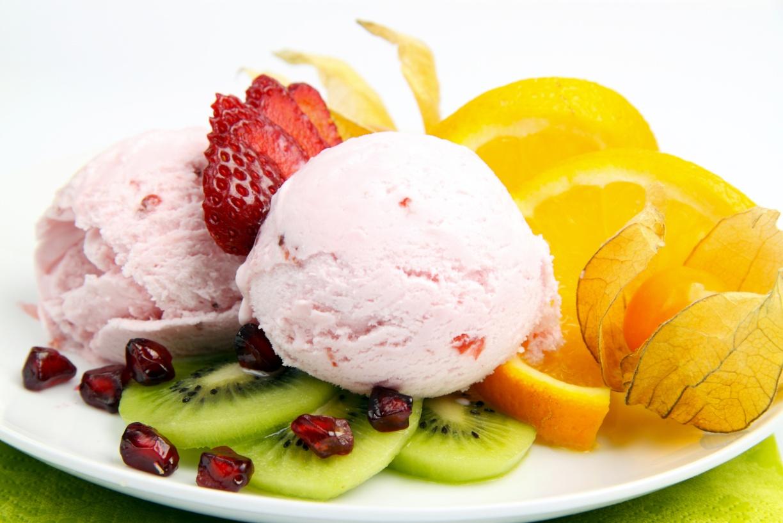 Мороженое с фруктами в домашних условиях рецепт