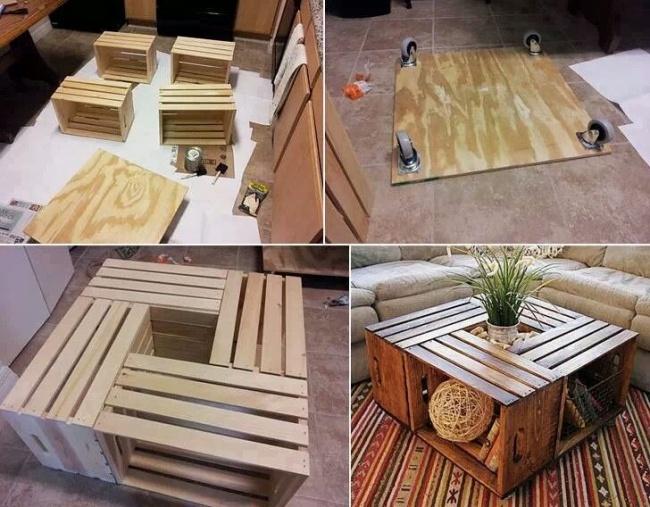 Идеи из дерева для дома своими руками
