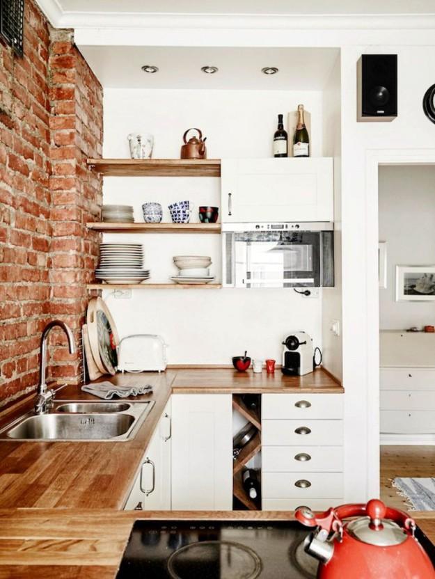 идеи для маленьких кухонь2