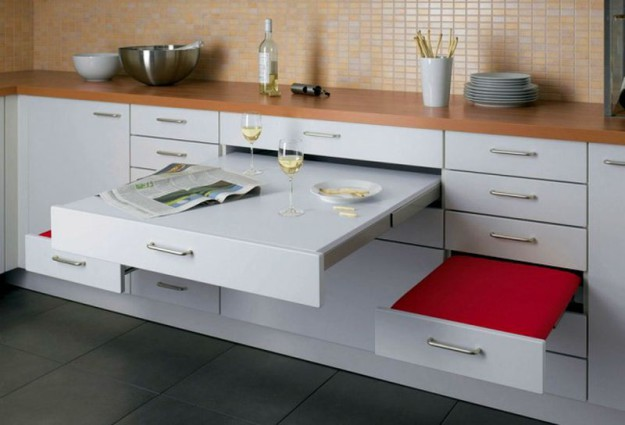 идеи обустройства маленькой кухни