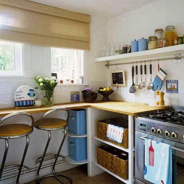 организация места на маленькой кухне2
