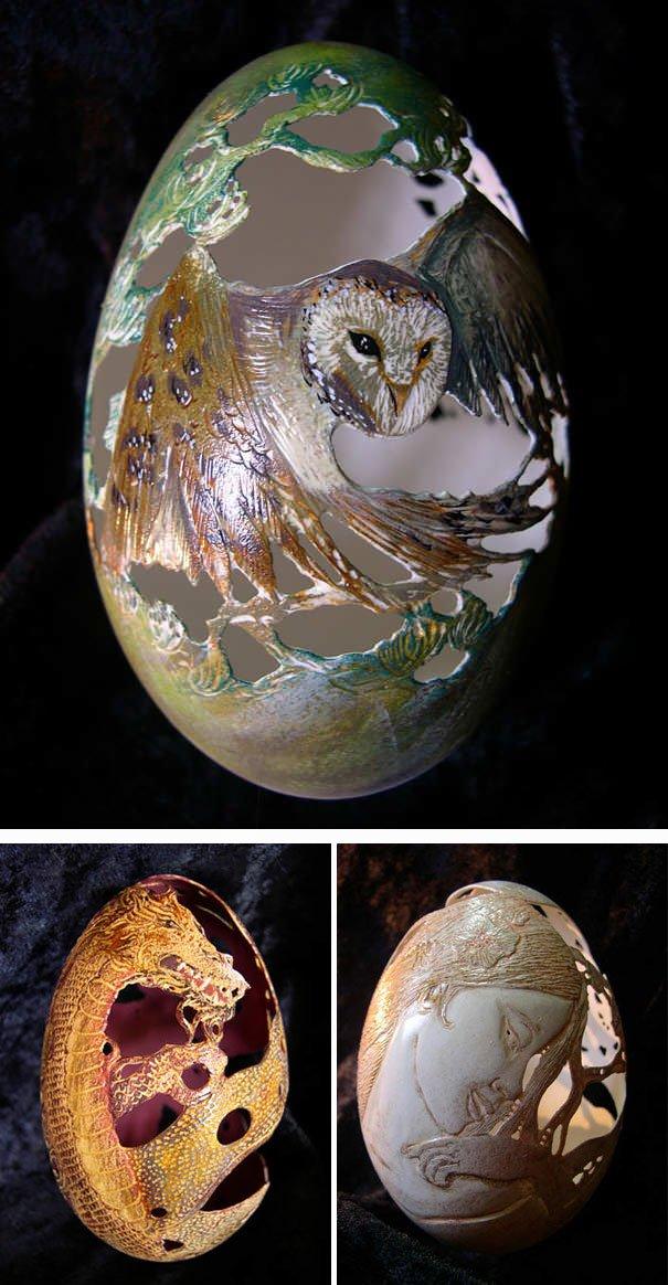 самые оригинальные пасхальные яйца6