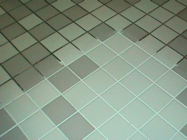 швы на плитке