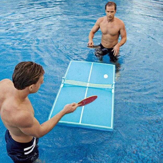 Плавающий настольный теннис