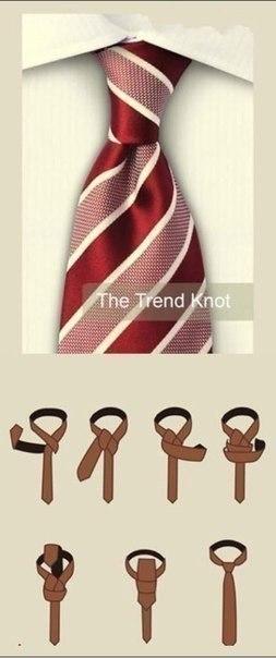 несколько способов завязать галстук