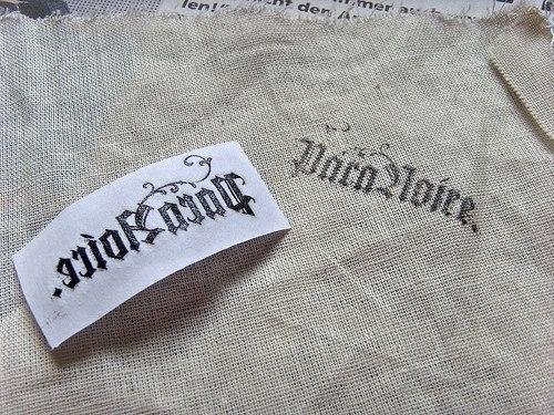 переносим изображение с бумаги на ткань7