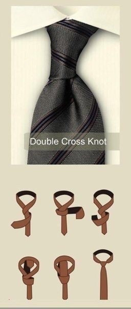 узел на галстуке